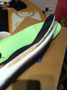 Flow and St5 insoles
