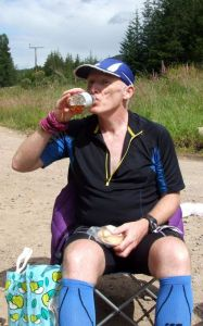 Great Glen Ultra fuelled by Scotch Pie and Macallan
