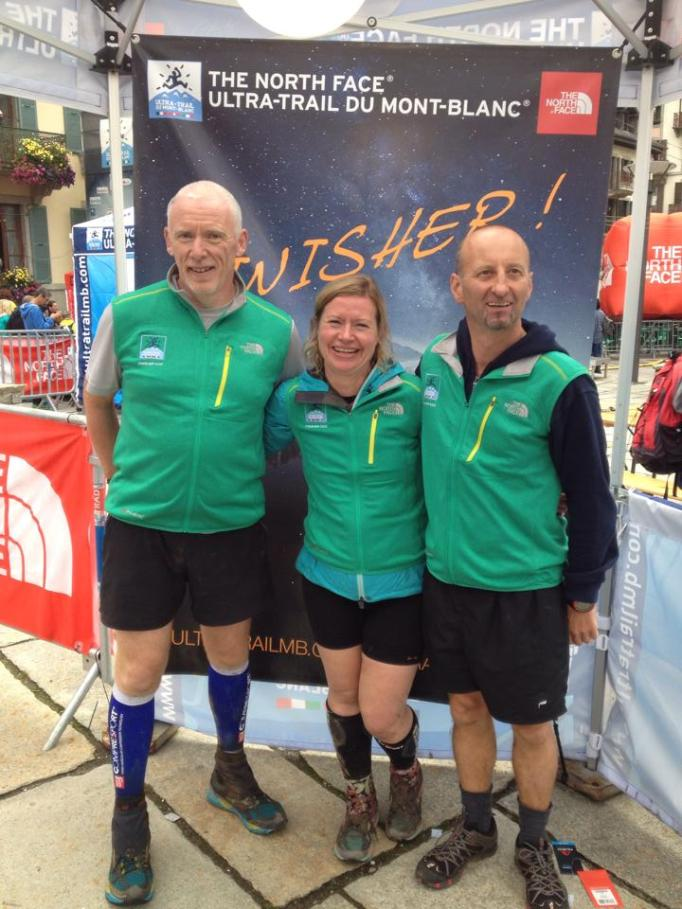 3 happy Random scottish Punters